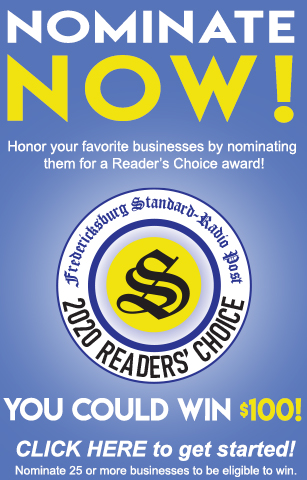 Reader's Choice contest sidebar ad