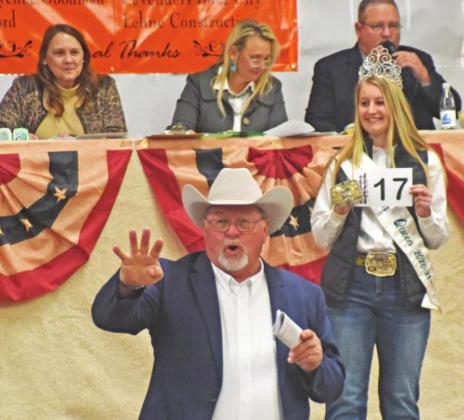LIVESTOCK SHOW AUCTION