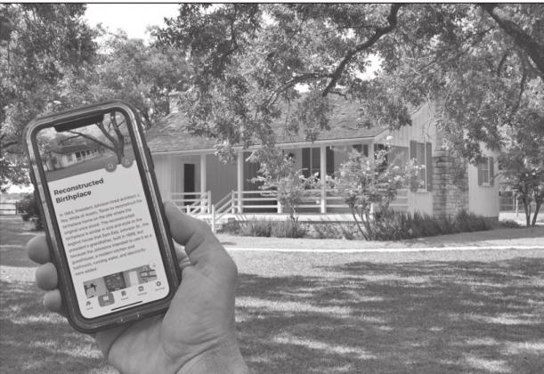 The new National Park Service mobile app allows visitors to tour the Lyndon B. Johnson National Historical Park on their smartphones. — Submitted photo