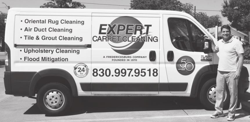 Don Miller, owner of Expert Carpet Cleaning, took over the business nearly five years ago and began expanding the services offered. Expert Carpet Cleaning offers many services, including air duct, Oriental rug and carpet cleaning along with flood repair mitigation. —Standard-Radio Post/Julia Maenius