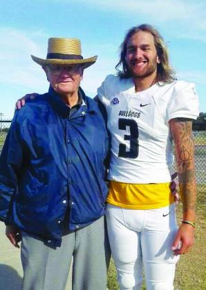 Newly hired Fredericksburg Middle School football coach, Pearce Loth, grandson of AJ and Irene Loth, will be the third Loth coach to make his debut as a Fredericksburg football coach. Loth played four years at Texas Lutheran University and will join the FMS coaching staff for the upcoming fall season. — Submitted photo
