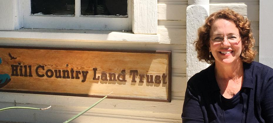 Jennifer Lorenz, who brings with her 25 years of nonprofit management, has taken over as the first full-time executive director of the Hill Country Land Trust.